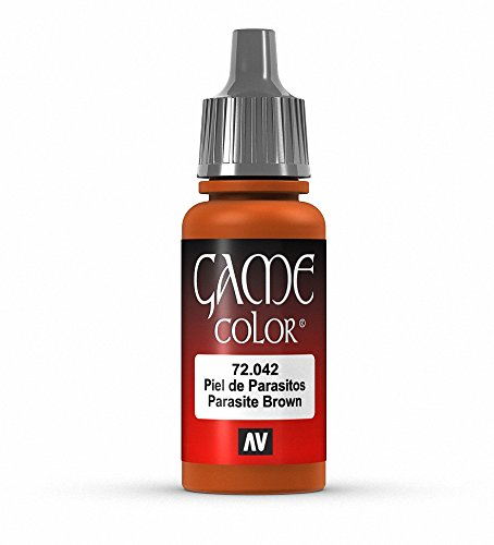 Vallejo Game Color Parasite Brown Paint, 17ml