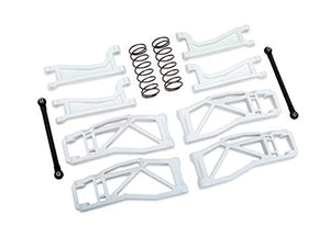 Traxxas White WideMaxx Suspension Kit 8995A for the Maxx