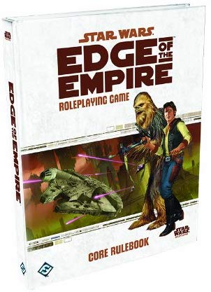 Star Wars Edge of The Empire Game Core RPG Rulebook