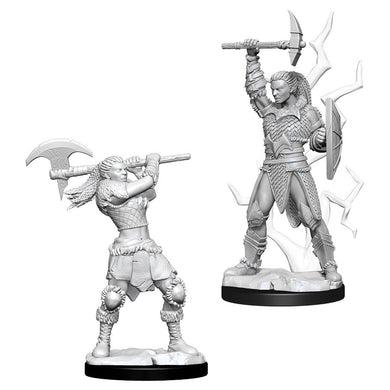 Dungeons & Dragons Nolzur's Marvelous Miniatures Female Goliath Barbarian 73834