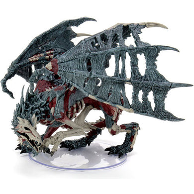 Wizkids Boneyard Premium - Adult Green Dracolich D&D Icons of The Realms Miniature
