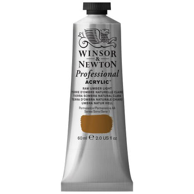 Winsor & Newton Professional Acrylic Color Paint, 60ml Tube, Raw Umber Light