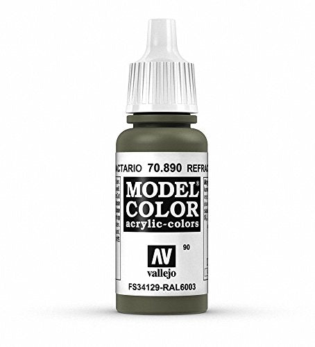 Vallejo Model Color Reflective Green Paint, 17ml