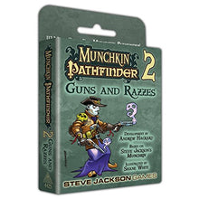 Load image into Gallery viewer, Steve Jackson Games Munchkin Pathfinder 2 Guns and Razzes Card Game