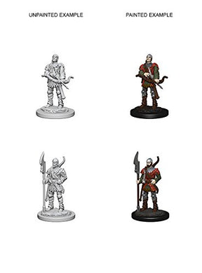 Pathfinder Deep Cuts Unpainted Miniatures: Wave 4: Town Guards 72583