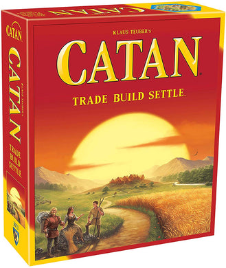 Catan Trade Build Settle Card and Board Game - CATAN Studio CN3071 Klaus Teuber