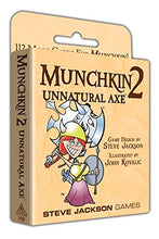 Load image into Gallery viewer, Munchkin 2 - Unnatural Axe 112 Cards for Munchkin