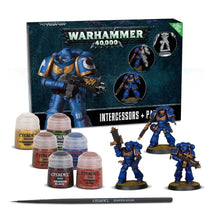 Load image into Gallery viewer, Games Workshop Warhammer 40,000 Space Marine Intercessors + Paint Set