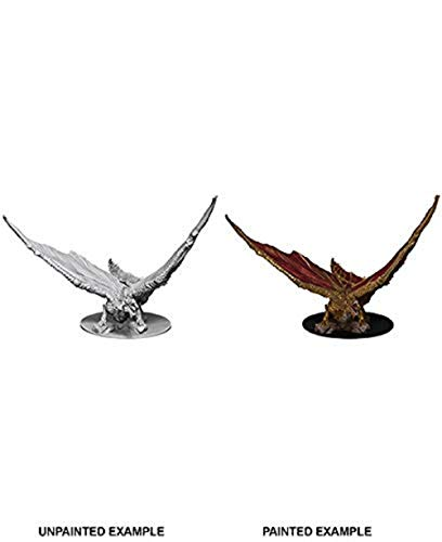 WizKids D&D Nolzur's Marvelous Miniatures: Young Brass Dragon 73711