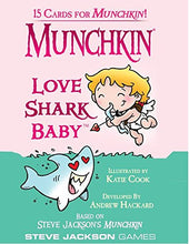 Load image into Gallery viewer, Steve Jackson Games Munchkin Love Shark Baby Card Game