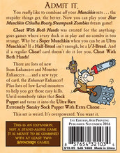 Load image into Gallery viewer, Munchkin 7 - Cheat With Both Hands 112 More Cards for Munchkin