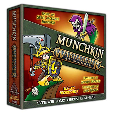 Munchkin Warhammer Age of Sigmar By Steve Jackson Games