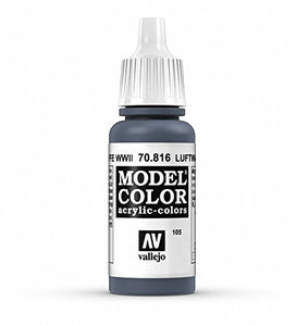 Vallejo Model Color Luftwaffe Uniform Paint, 17ml