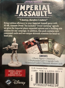 Imperial Assault IG-88 Villain Pack FFG SWI05 Star Wars