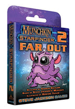 Load image into Gallery viewer, Steve Jackson Games 4472SJG Munchkin Starfinder 2 Far Out