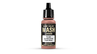 Vallejo Game Color Flesh Wash, 17ml
