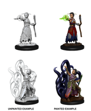 Load image into Gallery viewer, Dungeons & Dragons Nolzur's Marvelous Miniatures - Female Human Warlock WZK73837