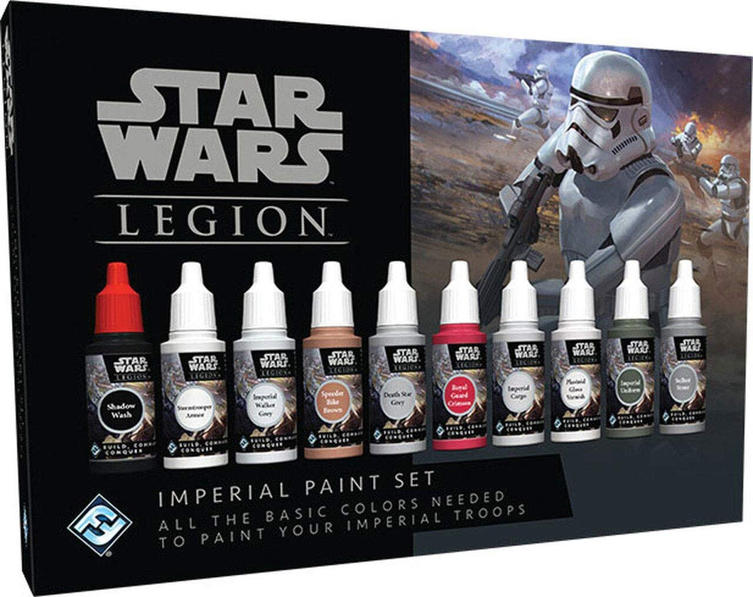 Star Wars: Legion - Imperial Paint Set 10 Colors SWS53