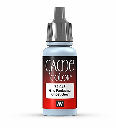Vallejo Game Color Ghost Grey Paint, 17ml
