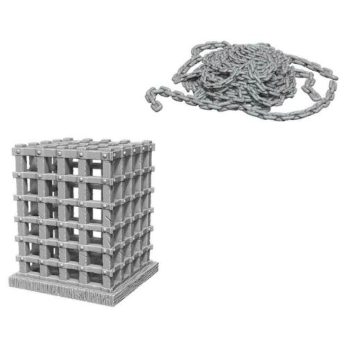 Wizkids Deep Cut Minitures - Cage & Chains WZK73419