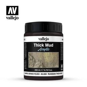 Vallejo Russian Thick Mud Model 200ml Paint Kit