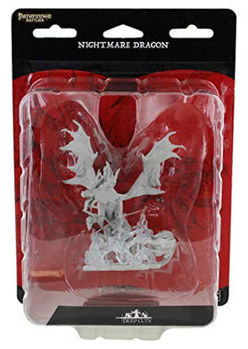 Wizkids Pathfinder Deep Cuts Unpainted Miniatures W12: Nightmare Dragon