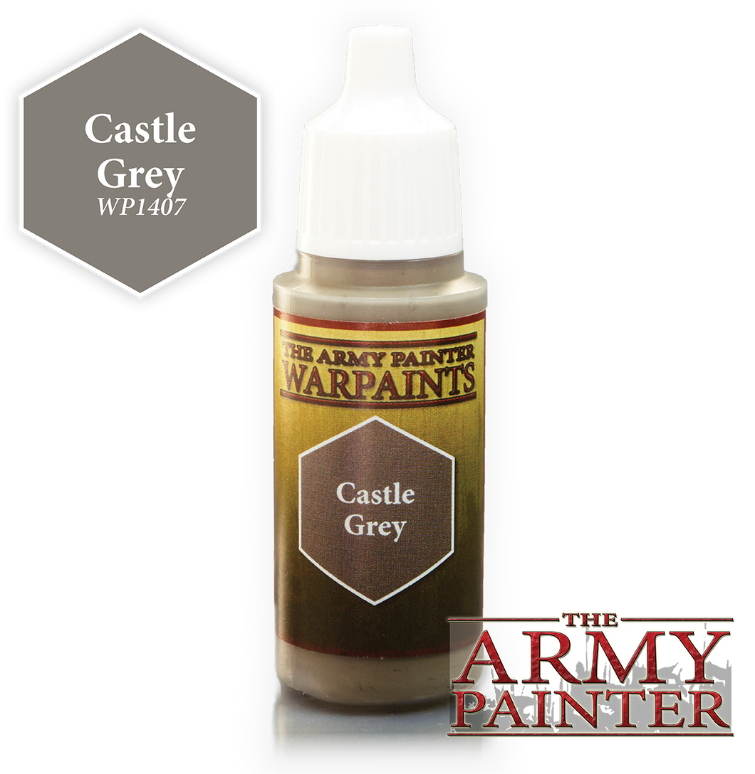 The Army Painter Warpaints 18ml Castle Grey