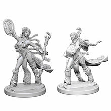 Load image into Gallery viewer, Pathfinder Deep Cuts Unpainted Miniatures: Human Female Sorcerer WZK72604