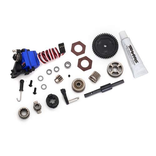 Traxxas 8196 TRX-4 Two Speed Conversion Kit, Silver