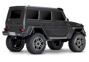 Traxxas 82096-4-BLK TRX-4¨ Scale and Trailª Crawler with Mercedes-Benz¨ G 500¨ 4x4_ Body