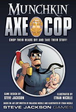 Load image into Gallery viewer, Munchkin Axe Cop By Steve Jackson