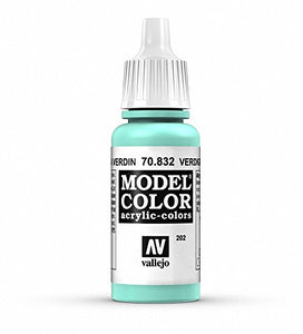 Vallejo Model Color Verdigris Glaze Paint, 17ml