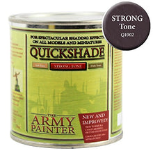 Load image into Gallery viewer, The Army Painter Quickshade Miniature Varnish for Miniature Painting, Strong Tone (250 ml)