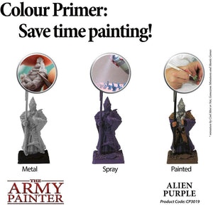 The Army Painter Alien Purple Spray Acrylic Color Primer for Painting Miniatures