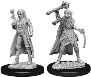 Dungeons & Dragons Nolzur's Marvelous Miniatures - Female Elf Cleric WZK73835