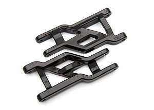Traxxas 3631X Suspension arms, Front (Black) (2) (Heavy Duty, Cold Weather Material)