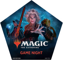 Load image into Gallery viewer, Magic: The Gathering Magic Game Night 2019 Card Game, 2–5 Players 5 Decks 5 Dice