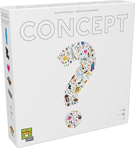 Concept Board Game by Repos Ages 10+ 4-10 Players
