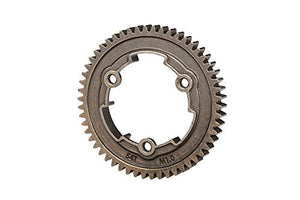 Traxxas 6449X 54-T Steel 1.0 Metric Pitch 20° Pressure Angle Spur Gear