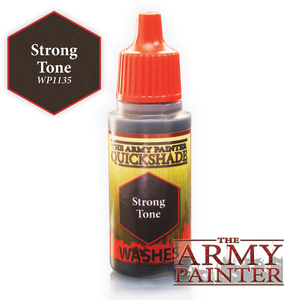"The Army Painter Warpaint Washes 18ml Strong Tone ""Brown Wash"" WP1135"