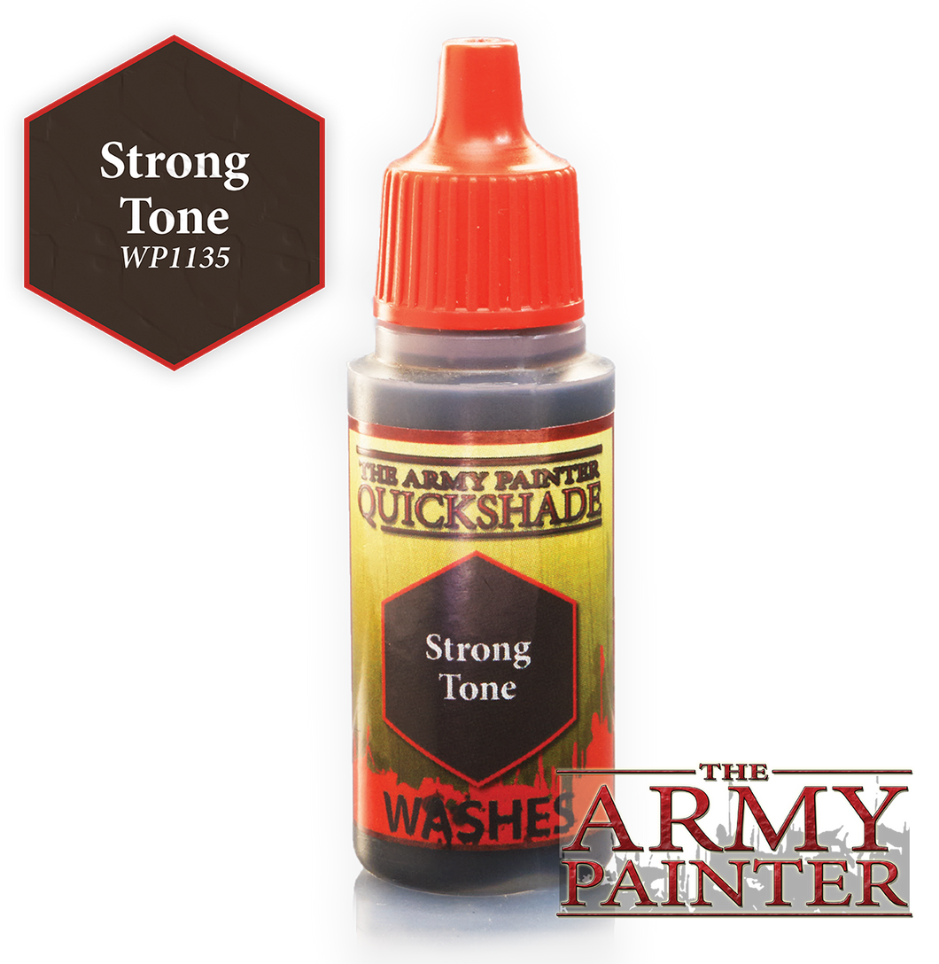 The Army Painter Warpaint Washes 18ml Strong Tone