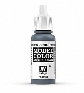 Vallejo Model Color French Mirage Blue Paint, 17ml