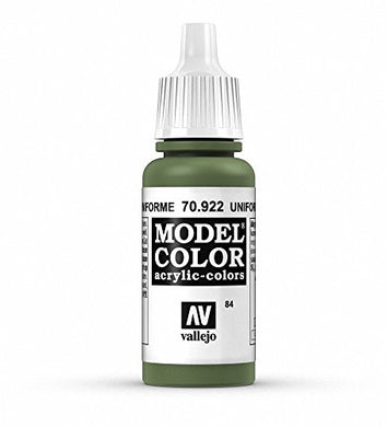Vallejo Model Color USA Uniform Paint, 17ml