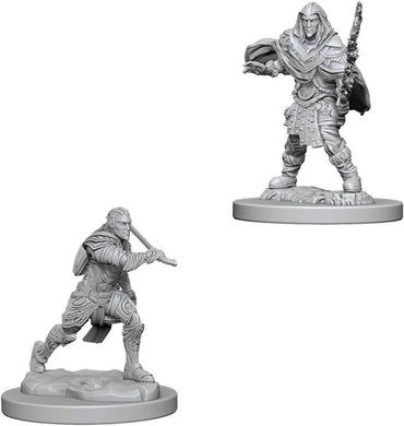 Dungeons & Dragons Nolzur's Marvelous Miniatures: Male Elf Fighter WZK73384
