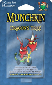 Munchkin Dragons Trike Card Game