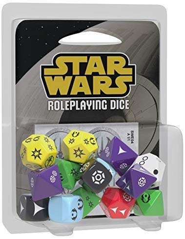 Star Wars Roleplaying Dice - Edge of the Empire Age of Rebellion Force & Destiny