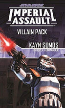 Load image into Gallery viewer, Star Wars: Imperial Assault - Kayn Somos Villain Pack Fantasy Flight SWI13