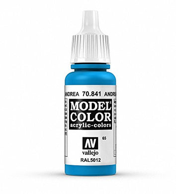 Vallejo Model Color Andrea Blue Paint, 17ml
