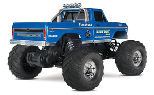 Traxxas 36034-1 Bigfoot No. 1 XL-5 2WD RC Monster Truck NO. 1 Body Blue
