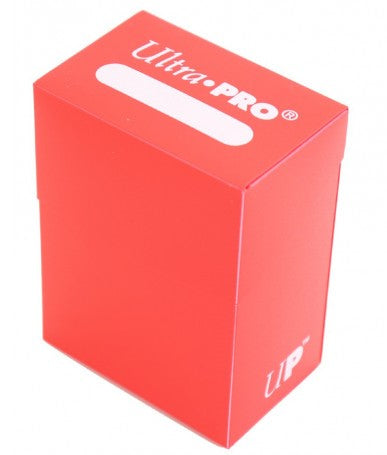 Ultra Pro Deck Box Red Card Holder for Standard & Small CCG MTG Gaming